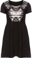 Manon Baptiste Plus Size Embellished mini dress