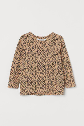 H&M Printed cotton top