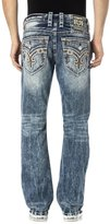 Rock Revival Men's Gilby J200 Straight Cut Jeans