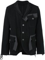 Miharayasuhiro frayed denim jacket