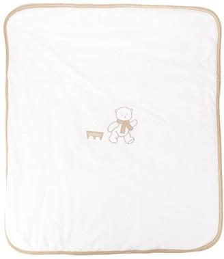 Le Bebé Enfant Embroidered Logo Blanket