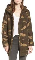 Levi's Women's Camo Canvas Hooded Jacket