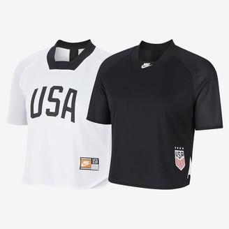 Nike Women's Short-Sleeve Reversible Soccer Top U.S