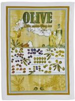 "Sur La Table Vintage Olive D'Italia Kitchen Towel, 28"" x 20"""