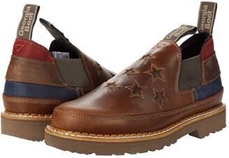 Georgia Boot Georgia Giant Patriotic Romeo Shoe (Brown) Women's Shoes