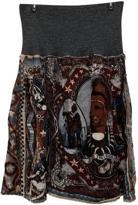 Jean Paul Gaultier Multicolour Synthetic Skirts