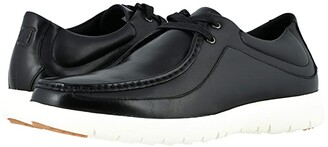 Stacy Adams Hanley Moc Toe Sneaker (Black) Men's Shoes