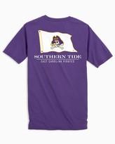 Southern Tide East Carolina Flag Short Sleeve T-Shirt