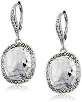 Judith Jack Sterling Silver Leverback with Swarovski Marcasite Drop Earrings