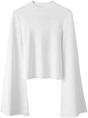 Voya Vega White Knit Top