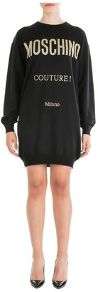 Moschino Care Instructions Mini Dress
