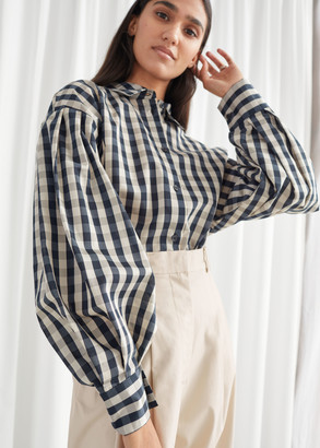 And other stories Voluminous Puff Sleeve Shirt