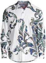 Robert Graham Classic-Fit Marlo Multi-Pattern Paisley Print Shirt