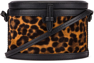 Hunting Season Mini Trunk Bag in Leopard | FWRD