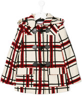 MSGM checked button up coat