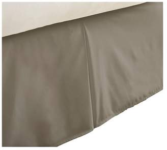 IENJOY HOME Becky Cameron Premium Ultra Soft Luxury Bed Skirt Dust Ruffle, Taupe,