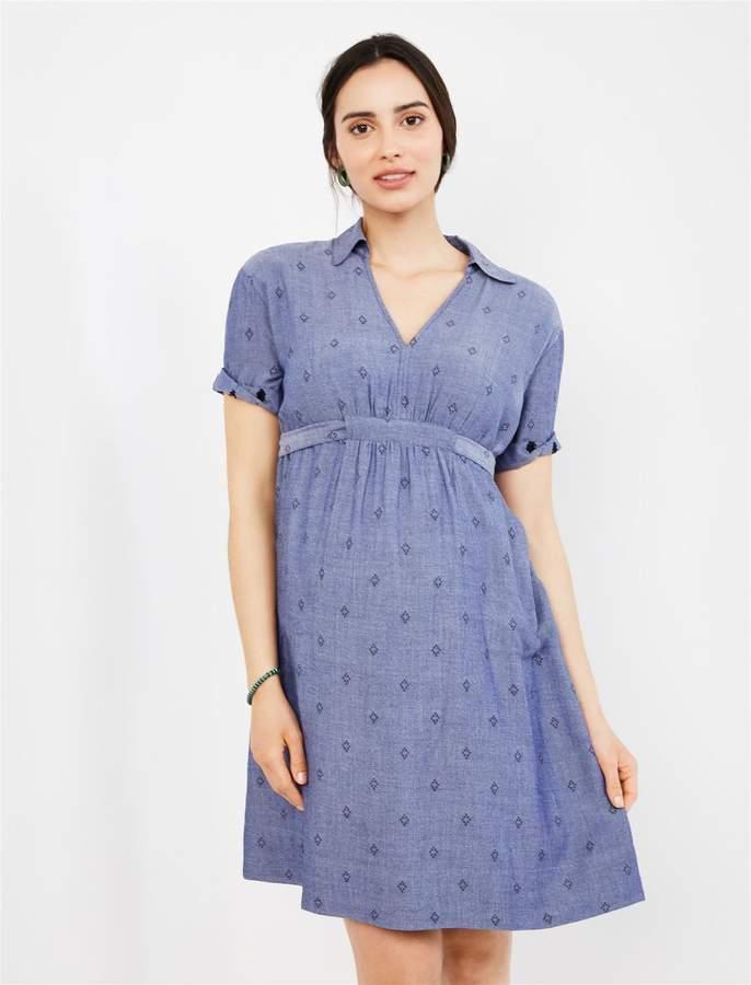 04f696522aaf1 Chambray Maternity Dress - Photo Dress Wallpaper HD AOrg