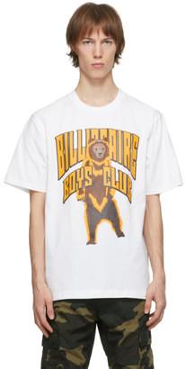Billionaire Boys Club White Standing Bear Logo T-Shirt