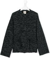 Douuod Kids - buttoned jacket - kids - Cotton/Acrylic/Polyamide/Viscose - 14 yrs