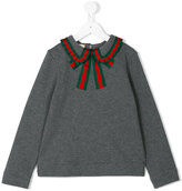 Gucci Kids sylvie web sweatshirt