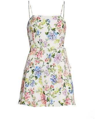 Alice + Olivia Trixie Gardenia Mini Dress
