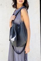 Cyan Grey Bucket Bag