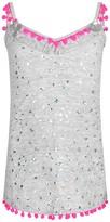 Pate De Sable Grey Starlight Beach Dress