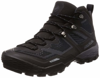 Mammut Boots Duck Mid GTX Mountain Boots Mountaineering and Trekking Men Multi-Coloured (Black/Dark Titanium) UK 11