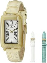 Kenneth Jay Lane Women's KJLANE-0911S-BSET Moderne Analog Display Japanese Quartz Beige Watch