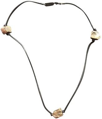 Maison Martin Margiela Gold Metal Necklaces