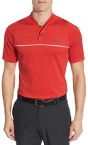Nike 'Max Swing' Stripe Golf Polo