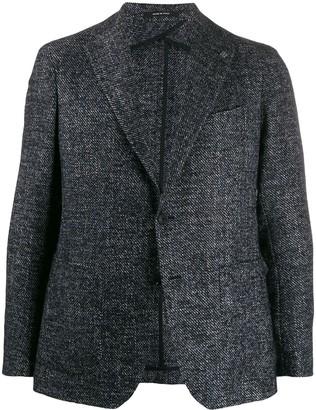 Tagliatore woven single-breasted blazer