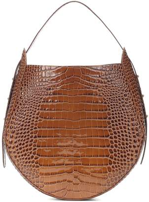 Wandler Corsa croc-effect leather tote