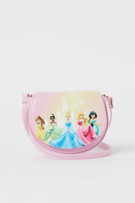 H&M Design-front Shoulder Bag - Pink