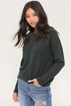 Ardene Exposed Stitch Sweater