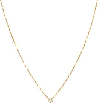 Sophie Bille Brahe Diamante Simple 18kt gold and diamond necklace