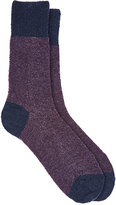Barneys New York Men's Bouclé Mid-Calf Socks