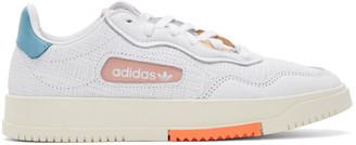 adidas White SC Premiere Sneakers