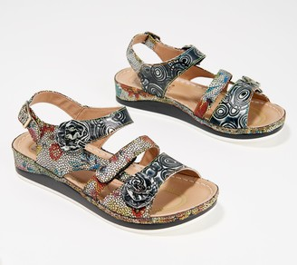 Spring Step L'Artiste by Leather Sandals - Joelina