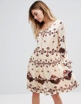 Vila Printed Drop Shift Dress
