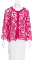 Christian Dior Floral Embroidered Cardigan