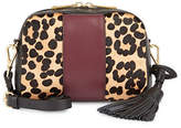 Imnyc Isaac Mizrahi Animal Print Small Crossbody Bag