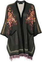 Etro Aztec embroidery jacket - women - Cotton/Viscose - L