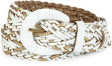 JCP Woven Belt with Metallic Strips