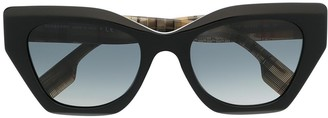 Burberry 0BE42993757T3 cat eye-frame sunglasses