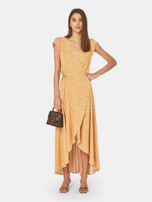 Auguste The Label Dean Sierra Wrap Maxi Dress