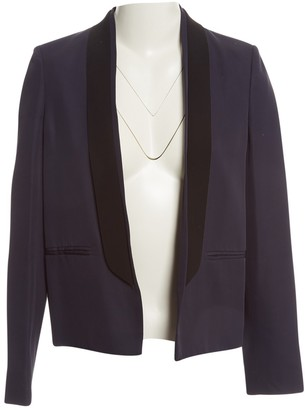 Cédric Charlier Navy Jacket for Women