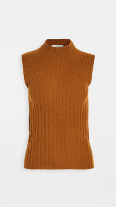Vince High Neck Shell Cashmere Sweater