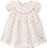 Petit Bateau Graphic onesie dress