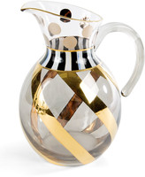 Mackenzie Childs Tango Glass Pitcher